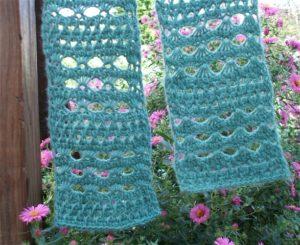 Tunisian Lace scarf