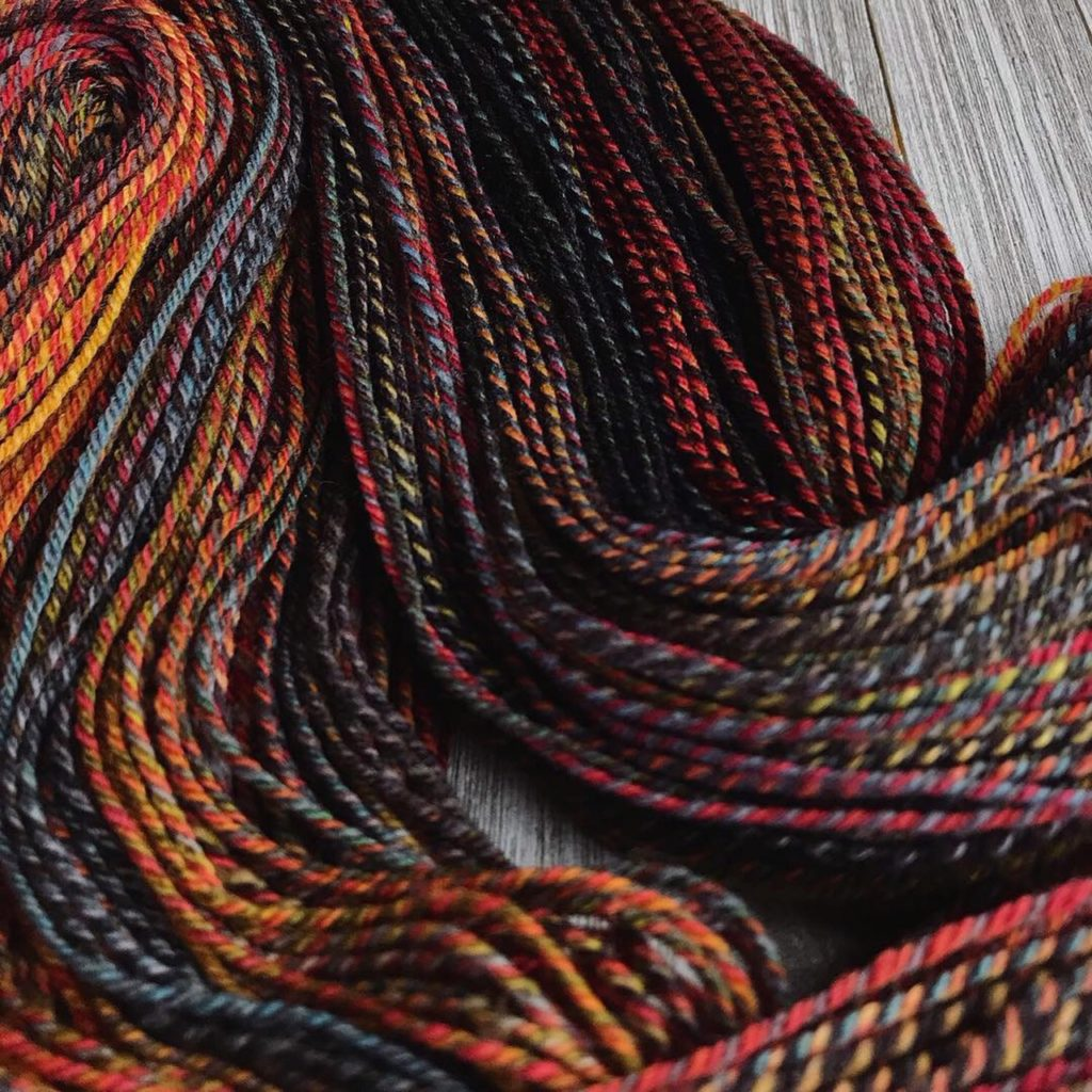 Fractal Spun Yarn