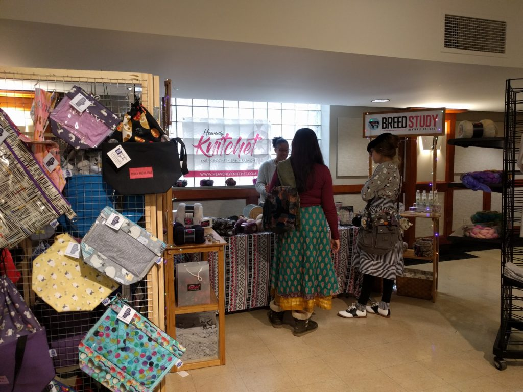 Midmitten Designs and Heavenly Knitchet in our new vendor area