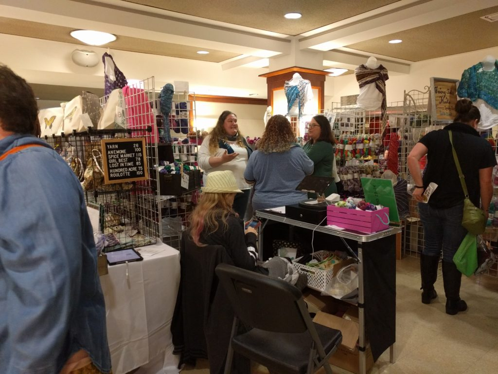 And yet more vendors on the first floor!